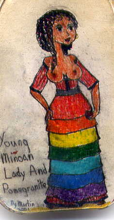 the new minoan miniature the art of nyani martin