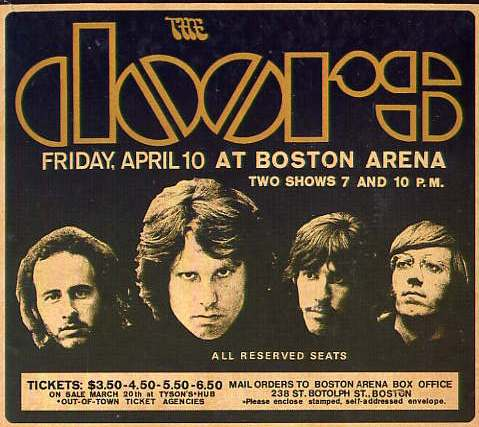 The Doors at Boston Arena 1970u2014A Fan Remembers  sc 1 st  jackdempseywriter - WordPress.com & The Doors at Boston Arena 1970u2014A Fan Remembers | jackdempseywriter