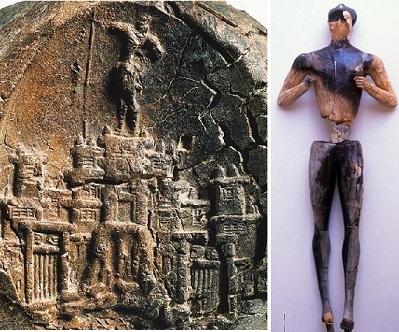 Master Impression-Kydonia, Young God-Palaikastro, Minoan Crete LMI c 1450 BCE