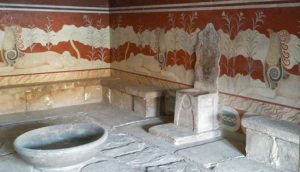 16 Knossos throne