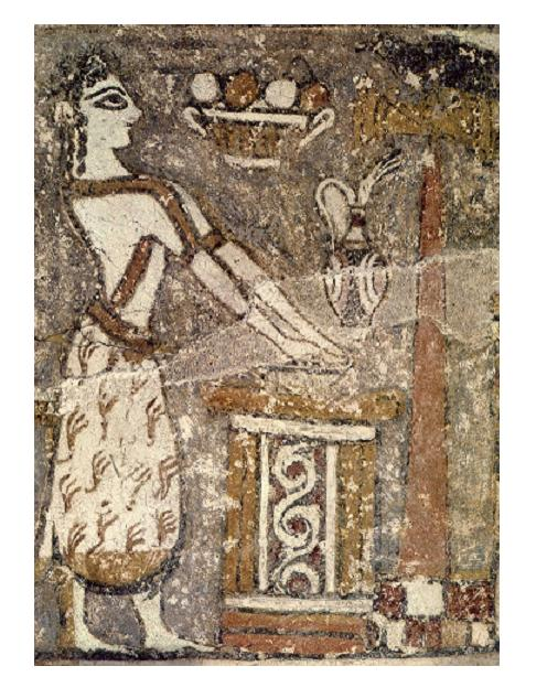 25 Minoan Priestess