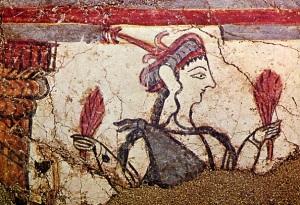 Achaian woman fr Mykenai