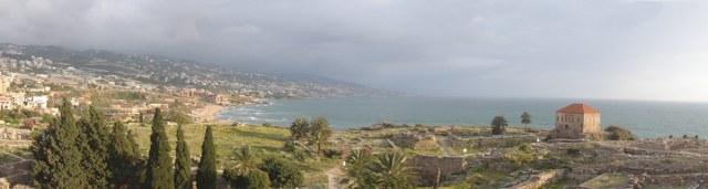 Byblos coast