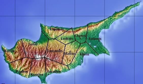Cyprus 'kingdoms'