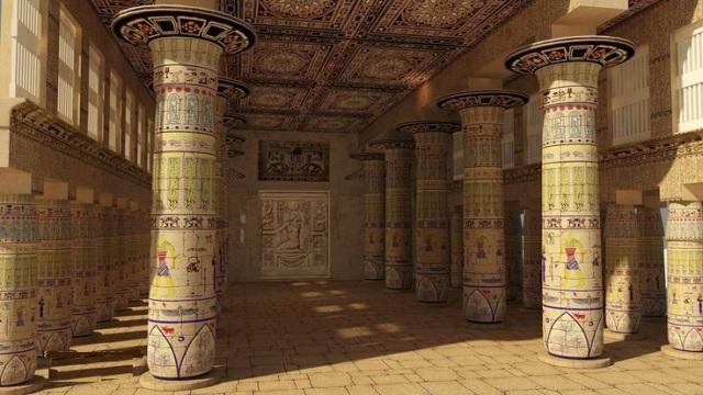 egypt hall art