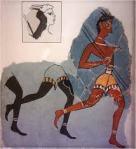 Minoan captain of the Blacks fresco