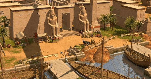 Nile portage