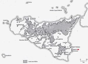 Sicily map fr Holloway