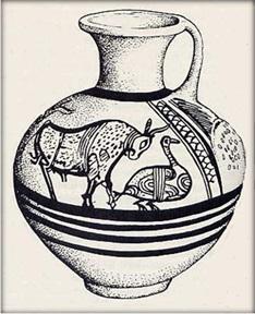 'sub minoan' cyprus vase