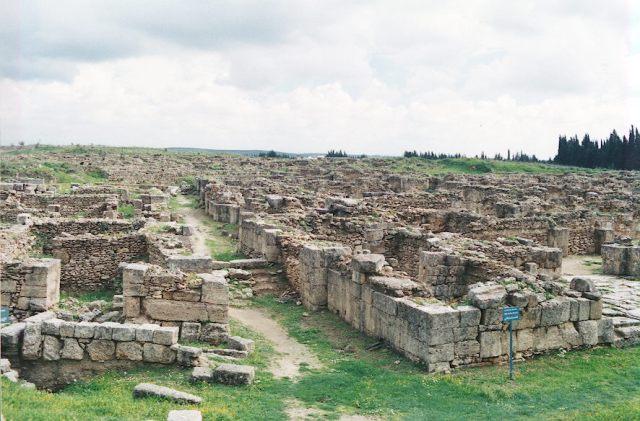 Ugarit ruins