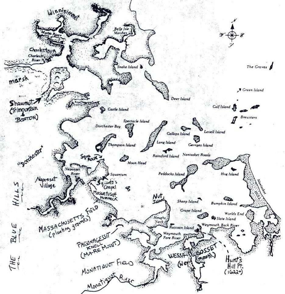 Mass Bay map