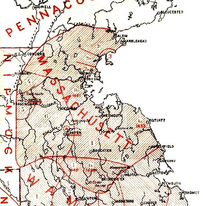 Massachusett territory